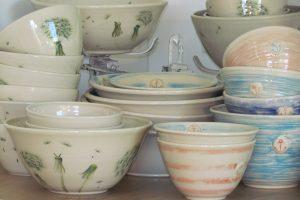 Keramik aus der Soet Pottery von Anne Burwitz