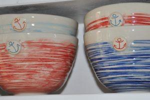 Sehr beliebt: die maritime Serie aus der Soet Pottery